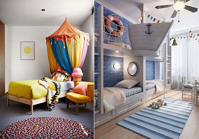 10 сказочных детских комнат.