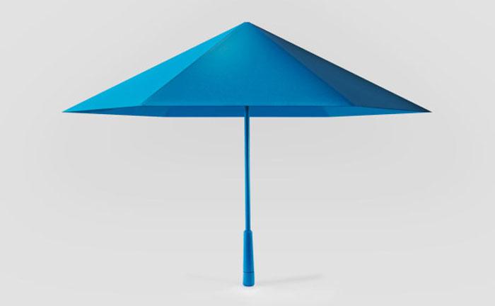 Зонтик, складывающийся по принципу оригами.