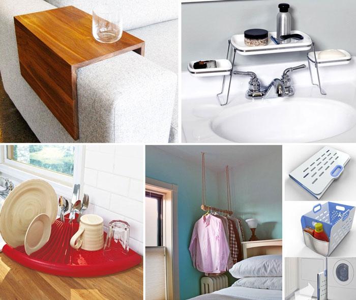 10 интересных способов сэкономить место в доме.