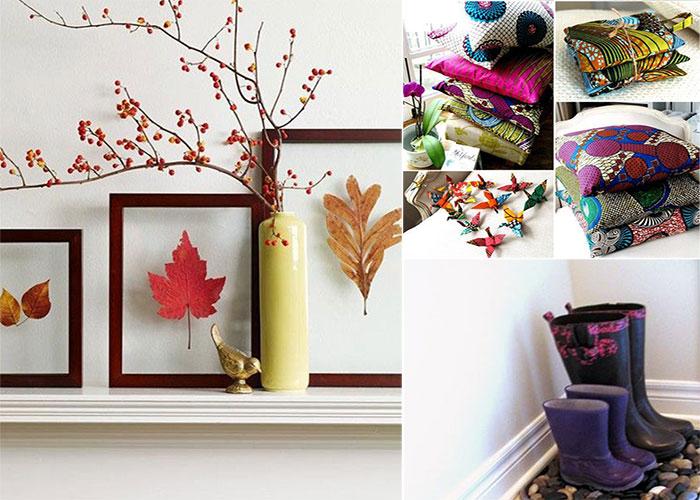 10 способов преобразить интерьер к осени.
