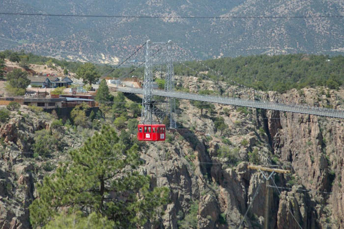 Royal Gorge Bridge.