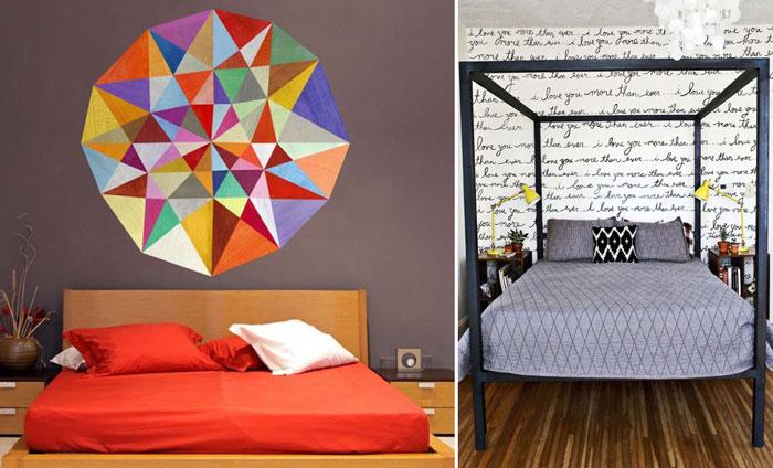 10 простых и креативных идей для декора стен.