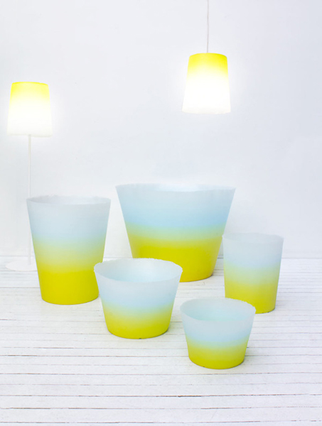 Кашпо и светильники от бренда Serralunga.