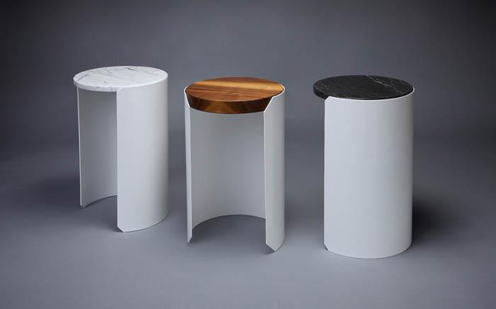 Столики со съемными столешницами.
