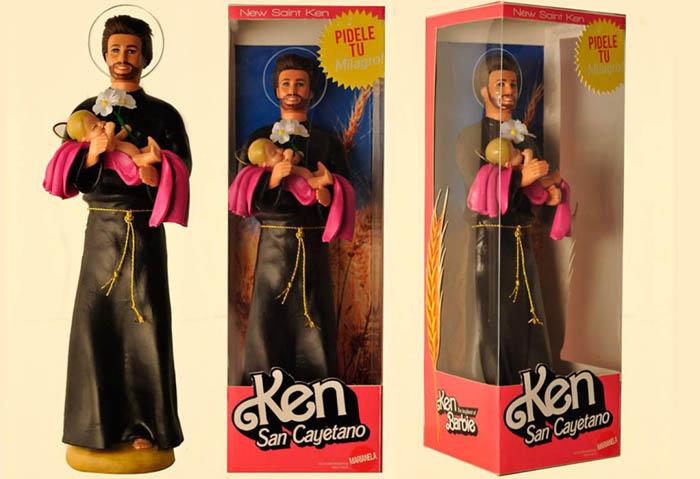 Барби и Кен, разработанные Pool Paolini и Marianela Perelli.