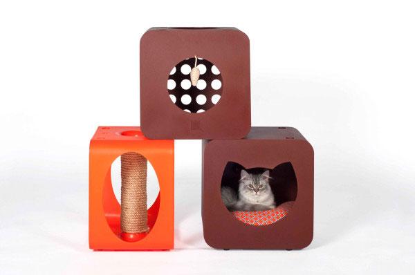 Домики для кошек от нового бренда ARNI Says.