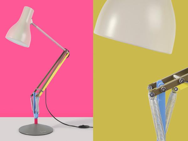 Дизайн лампы Anglepoise от Пола Смита.