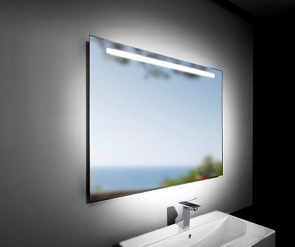 Зеркало, превращающееся в ЖК-экран.