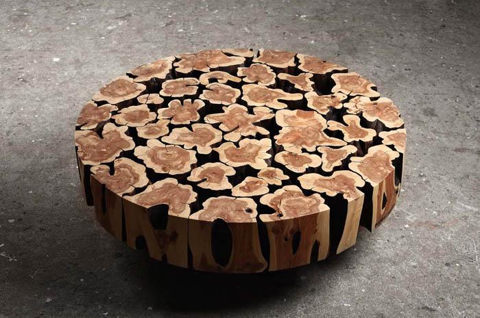 Деревянная мебель от корейского дизайнера Jaehyo Lee.