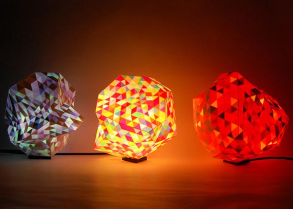 Необычные светильники Dazzle.
