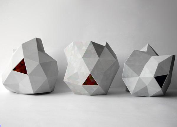 Необычные светильники от Corneel Cannaerts.