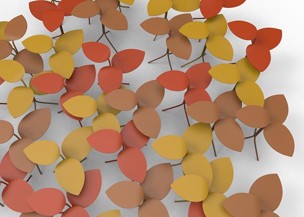 Яркие столики от Moroso.