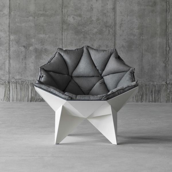 Оригинальное кресло от студии ODESD2.