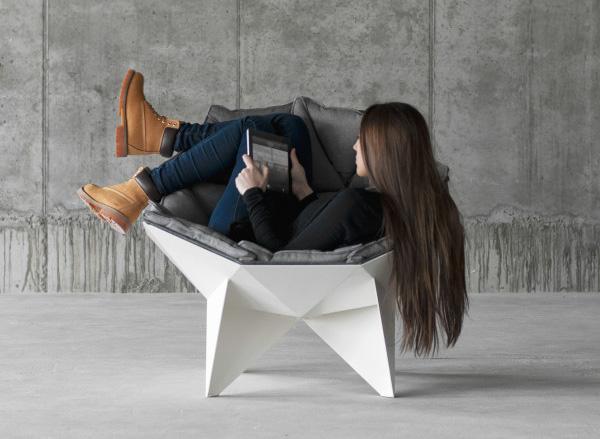 Эргономичное кресло, выдерживающее большие нагрузки.