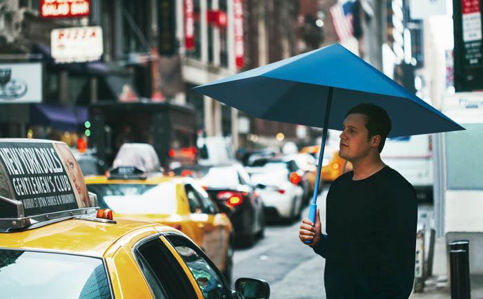 Зонт, складывающийся как лист бумаги
