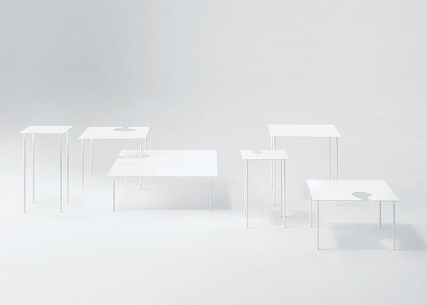Оригинальная мебель, похожая на бумажную.