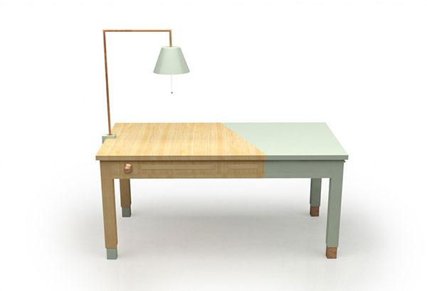 Современный кухонный стол.