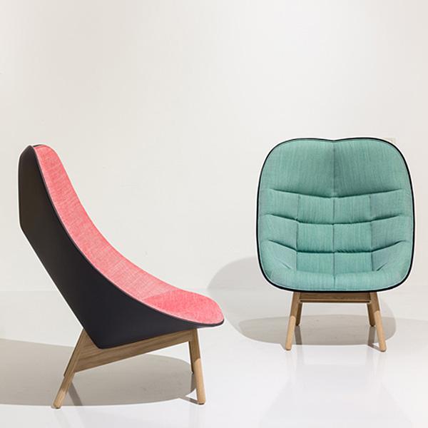 Кресла от студии Doshi Levien.