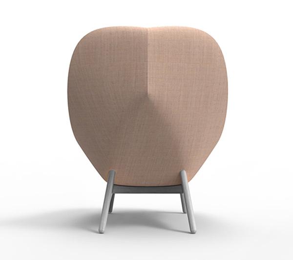 Стильное кресло для «Hay».
