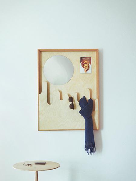 Зеркальная рама от Gonsalo Campos.