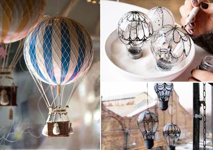 10 воздушных шаров, которые могут поселиться в интерьере.