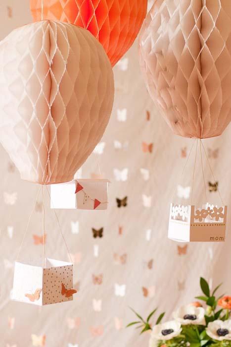 Бумажные шары своими руками фото