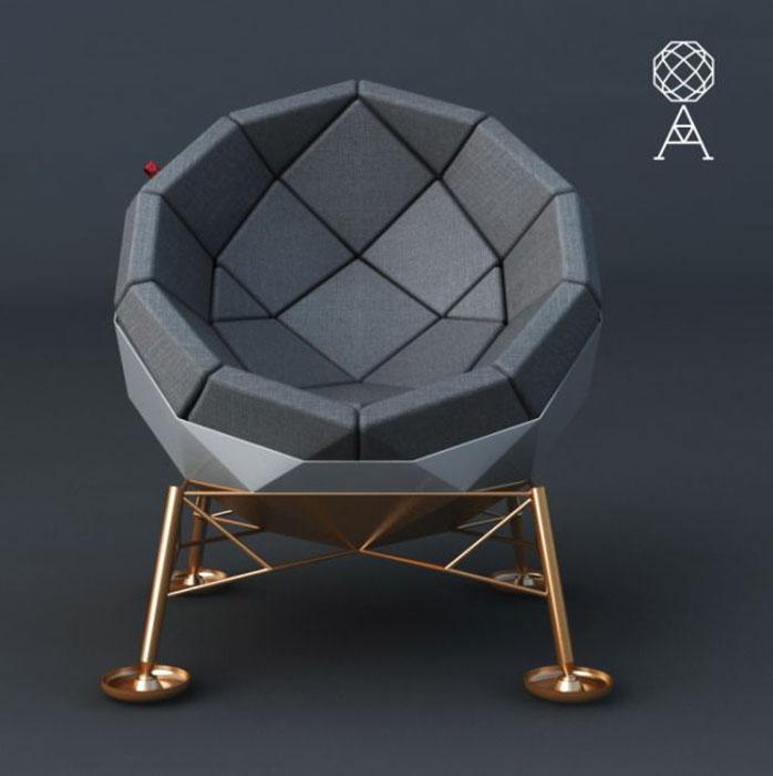 Необычное кресло от Marcos Madia.