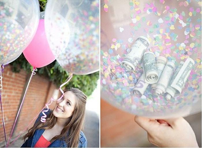 Идеи использования воздушных шариков.