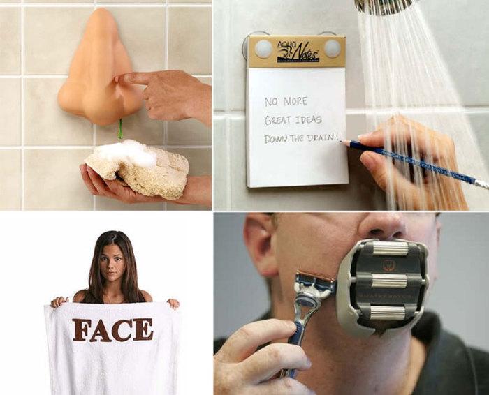 10 забавных аксессуаров для ванной.