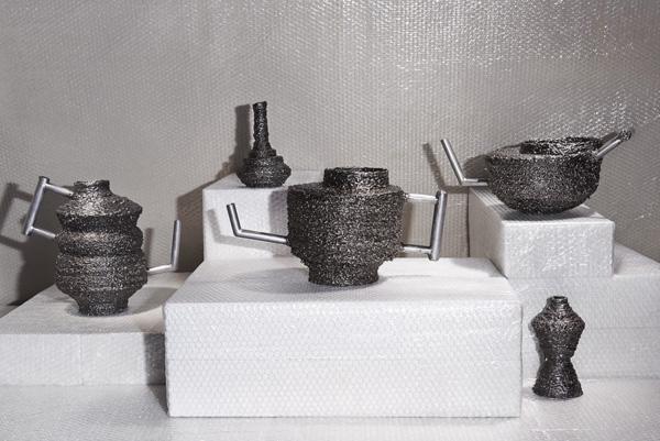 Посуда, сделанная на сварочном оборудовании.