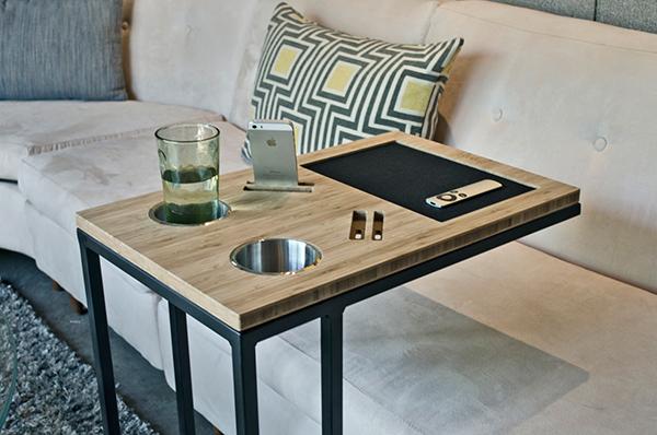 Удобный кофейный столик.