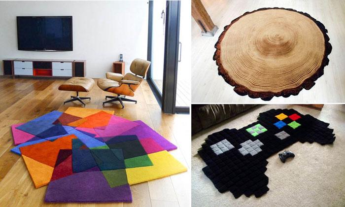 15 потрясающих ковриков для интерьера.