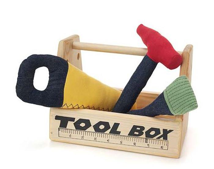 Мягкие инструменты для детей.