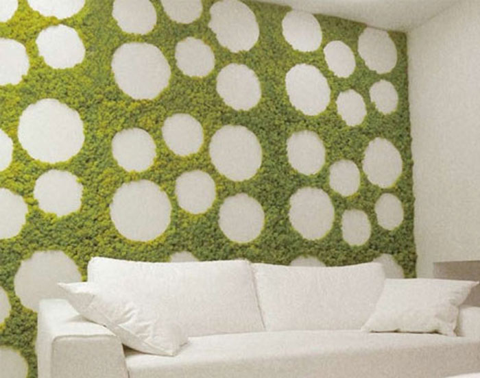 Зеленая стена.