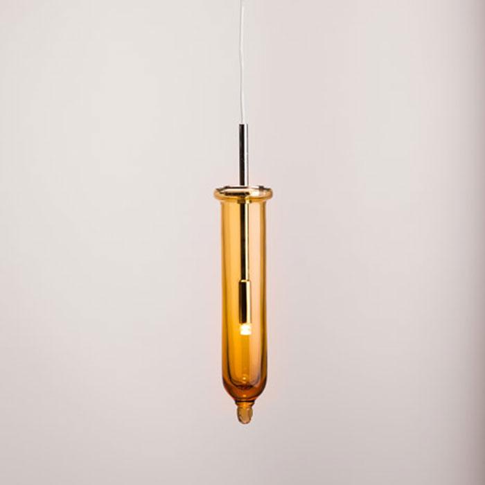Стеклянные светильники от чешского дизайнера Jan Vacek.