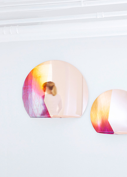 Яркие медные зеркала Besau-Marguerre.