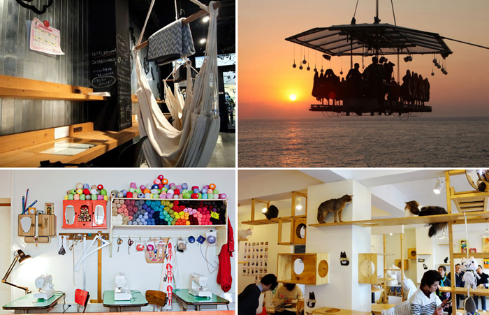 Необычные кафе и рестораны.