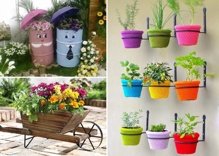 10 оригинальных идей по украшению садового участка.