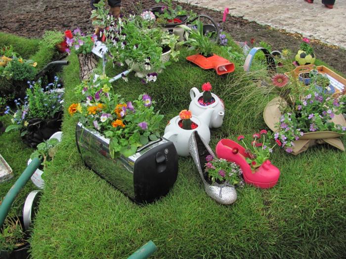 Декор с для сада своими руками