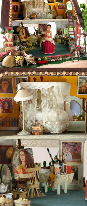Кукольный дом в честь Фриды Кало.