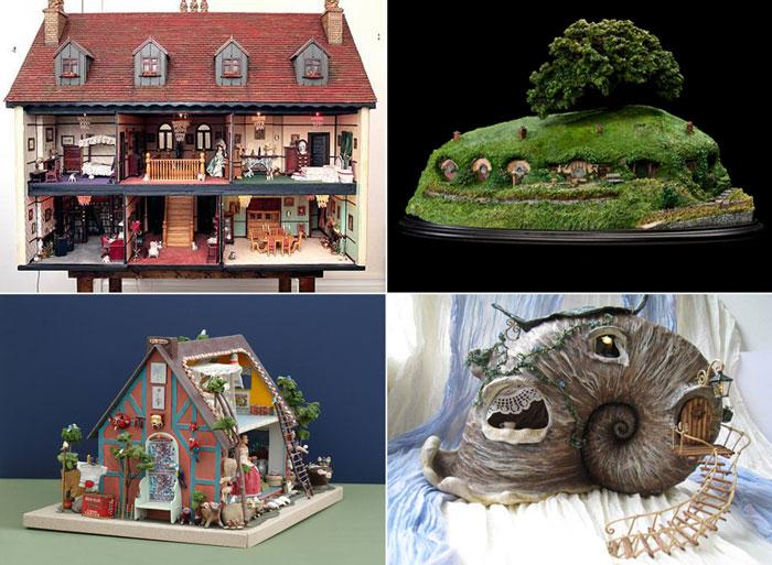 Самые красивые кукольные домики в мире.
