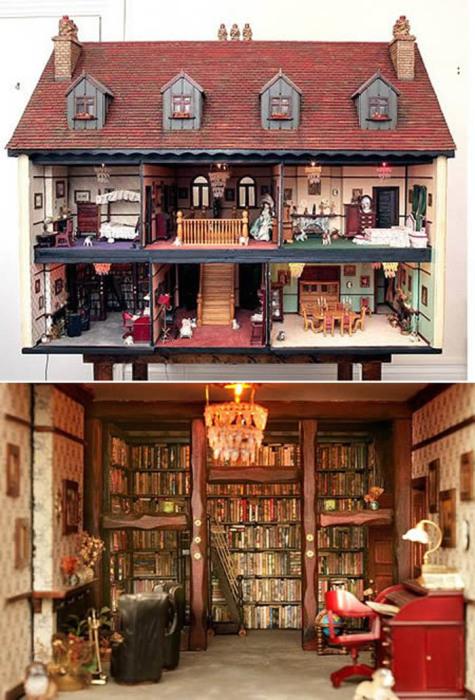 Самый дорогой кукольный дом.