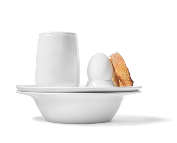 Фарфоровая посуда от C.F. Moller Design.