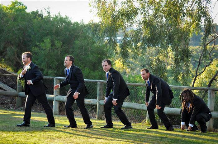 Смешные свадебные фото.