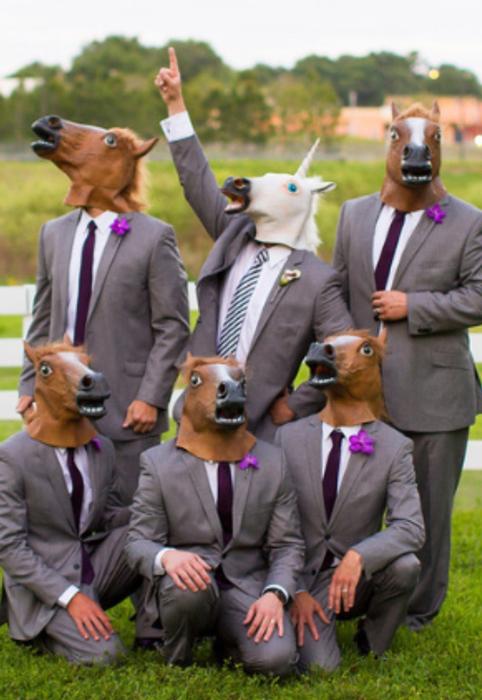 Задумки для фото на свадьбе.