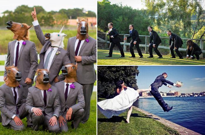 13 идей для свадебной фотосессии.