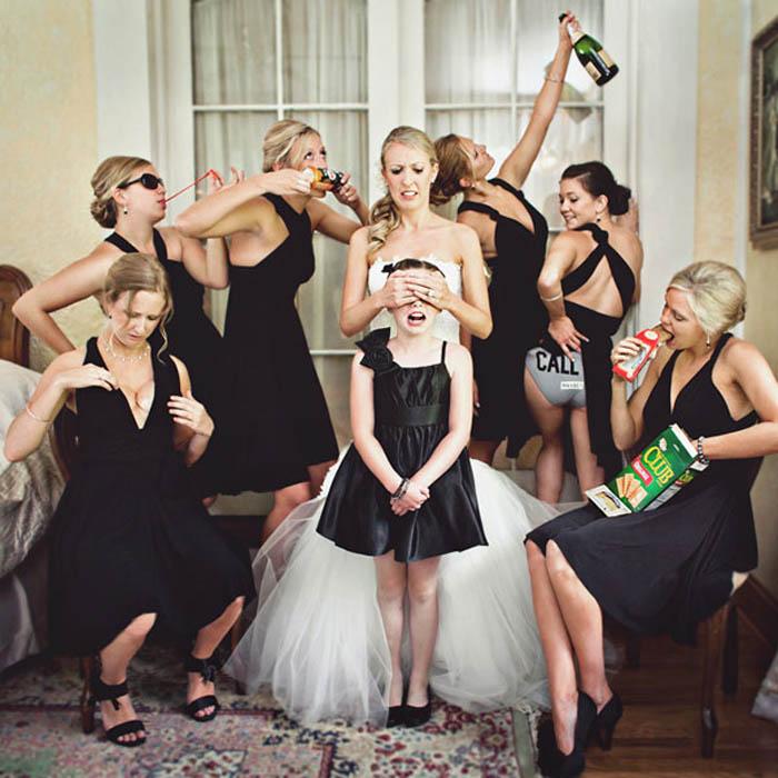Идеи для свадебных фото.