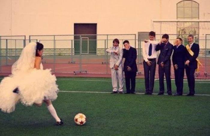 Идеи для свадебных фотографий.