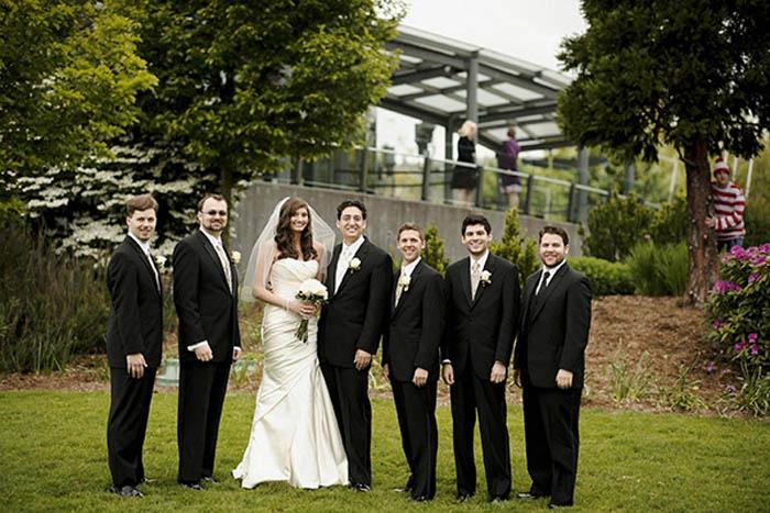 13 идей для фото на свадьбу.