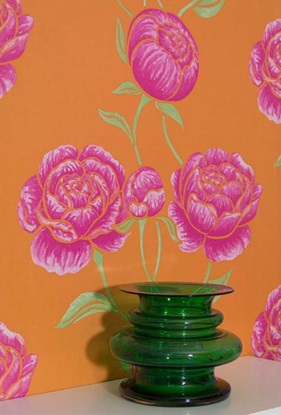 Яркие цветочные обои от Lindholm.